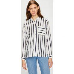 Only - Koszula. Szare koszule damskie marki ONLY, s, z bawełny, casualowe, z okrągłym kołnierzem. W wyprzedaży za 89,90 zł.