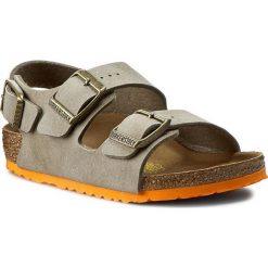 Sandały BIRKENSTOCK - Milano Kinder 0035183 Desert Soil Taupe. Brązowe sandały męskie skórzane marki Birkenstock. W wyprzedaży za 169,00 zł.