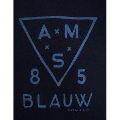 Scotch Shrunk CREWNECK GARMENT DYE WITH RAGLAN SLEEVES Bluza night. Niebieskie bluzy chłopięce marki Scotch Shrunk, z bawełny. W wyprzedaży za 175,20 zł.