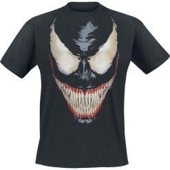 Venom (Marvel) Smile T-Shirt czarny. Czarne t-shirty męskie Venom (Marvel), xxl, z motywem z bajki. Za 74,90 zł.