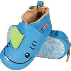 Soxo - Kapcie dziecięce. Niebieskie kapcie chłopięce marki Soxo, z materiału. Za 89,99 zł.