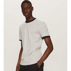Gładki T-shirt Basic - Jasny szar. Białe t-shirty męskie marki Reserved, l. Za 19,99 zł.