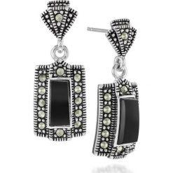 Kolczyki damskie: Wyjątkowe Kolczyki Srebrne – srebro 925, Markasyt…