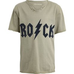 T-shirty chłopięce z nadrukiem: Zadig & Voltaire TUNESISCHER KRAGEN Tshirt z nadrukiem kaki