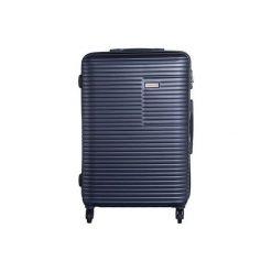 Walizka Madryt 67L Granatowa (MADRYT 24 BLU). Szare walizki marki VIP COLLECTION. Za 300,00 zł.