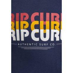 Rip Curl SCRIPT HOODED  Bluza z kapturem blue indigo. Niebieskie bluzy dziewczęce rozpinane marki Rip Curl, z bawełny, z kapturem. W wyprzedaży za 170,10 zł.