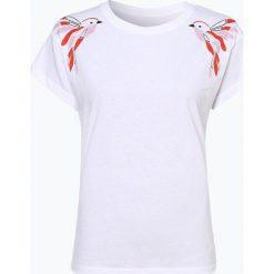 ARMEDANGELS - T-shirt damski – Nela Twin Birds, czarny. Czarne t-shirty damskie ARMEDANGELS, s, z nadrukiem. Za 79,95 zł.