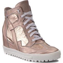 Sneakersy SERGIO BARDI - Assunta FS127213317AF 125. Czerwone sneakersy damskie Sergio Bardi, ze skóry. W wyprzedaży za 249,00 zł.