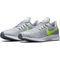 Buty do biegania męskie NIKE AIR ZOOM PEGASUS 35 / 942851-101 - szary. Szare buty do biegania męskie marki Nike. Za 499,00 zł.