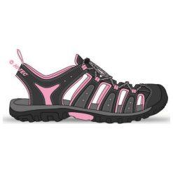 Hi-tec Sandały I Klapki Eritio Wo's Pink/ Carbon Grey/ Dark Grey r. 36. Różowe klapki damskie Hi-tec. Za 89,59 zł.