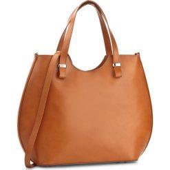 Torebka CREOLE - RBI10165  Koniak. Brązowe torebki klasyczne damskie Creole, ze skóry, duże. W wyprzedaży za 289,00 zł.