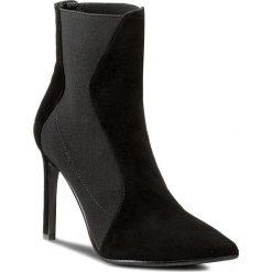 Botki EVA MINGE - Marisol 2C 17BL1372253EF 201. Czarne buty zimowe damskie Eva Minge, z materiału, na obcasie. Za 649,00 zł.