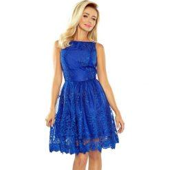 Sukienki: Ekskluzywna rozkloszowana sukienka - CHABROWA