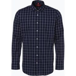 Koszule męskie na spinki: Finshley & Harding London – Koszula męska, niebieski