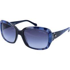 """Okulary przeciwsłoneczne damskie: Okulary przeciwsłoneczne """"RC881S"""" w kolorze niebieskim"""
