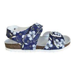 Protetika Sandały Ortopedyczne Dziewczęce 30 Niebieskie. Czerwone sandały dziewczęce marki Born2be, z materiału, z otwartym noskiem, na zamek. Za 84,00 zł.