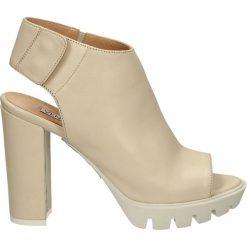 Sandały damskie: Sandały - 9004 PER BEIG