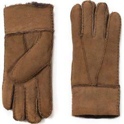 Rękawiczki damskie: Art of Polo Rękawiczki damskie skórzane kożuszkowe brązowe r. uniwersalny
