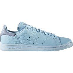 """Buty adidas Stan Smith """"Icey Blue"""" (BZ0472). Niebieskie halówki męskie Adidas, z materiału, adidas stan smith. Za 191,99 zł."""