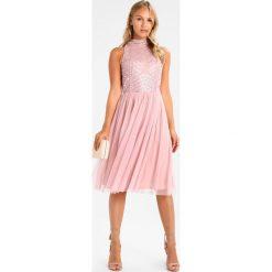 Sukienki hiszpanki: Lace & Beads Petite WREN SKATER  Sukienka koktajlowa pink
