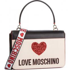 Torebka LOVE MOSCHINO - JC4115PP17L3100A Nero/Avorio. Brązowe torebki klasyczne damskie marki Love Moschino, ze skóry ekologicznej. Za 839,00 zł.