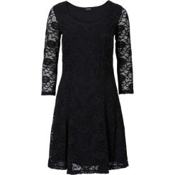 Sukienki hiszpanki: Sukienka z koronką bonprix czarny