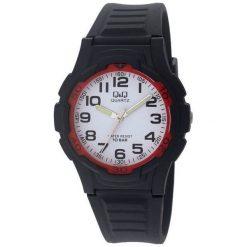 Zegarek Q&Q Męski VP84-006 Wodoszczelny czarny. Czarne zegarki męskie Q&Q. Za 76,99 zł.