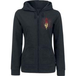 Slipknot Burn Me Away Bluza z kapturem rozpinana damska czarny. Czarne bluzy rozpinane damskie marki Slipknot, m, z nadrukiem, z kapturem. Za 144,90 zł.