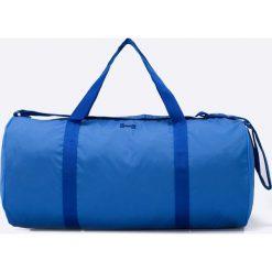 Under Armour - Torba. Niebieskie torebki klasyczne damskie Under Armour, w paski, z materiału. W wyprzedaży za 119,90 zł.