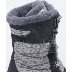 Bearpaw - Śniegowce Aretha. Czarne botki damskie skórzane marki Mohito, na obcasie. W wyprzedaży za 359,90 zł.
