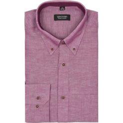Koszula martos 1862 długi rękaw custom fit bordo. Fioletowe koszule męskie jeansowe marki Recman, l, z aplikacjami, button down, z długim rękawem. Za 29,99 zł.