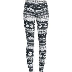 Miasteczko Halloween Intarsia Stripe Legginsy czarny/biały. Białe legginsy Miasteczko Halloween, xl. Za 99,90 zł.