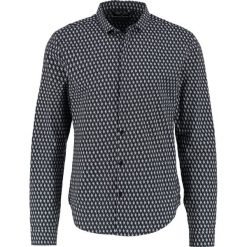 Koszule męskie na spinki: Teddy Smith CHELTON Koszula dark navy