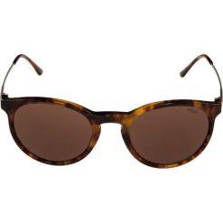 Polo Ralph Lauren Okulary przeciwsłoneczne dark brown. Brązowe okulary przeciwsłoneczne męskie aviatory Polo Ralph Lauren. Za 589,00 zł.