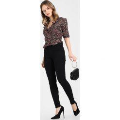 Boyfriendy damskie: Dr.Denim Petite MOXY HIGH RISE Jeans Skinny Fit black