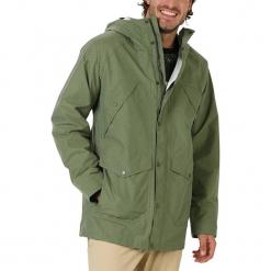 """Kurtka funkcyjna """"Nightcrawler"""" w kolorze khaki. Brązowe kurtki męskie bomber Burton, m, z aplikacjami, z materiału. W wyprzedaży za 217,95 zł."""