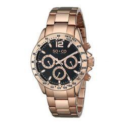 """Zegarki męskie: Zegarek """"5001.4"""" w kolorze złoto-czarnym"""