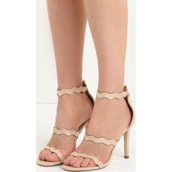 Beżowe Sandały Skyways. Brązowe sandały damskie marki NEWFEEL, z gumy. Za 69,99 zł.