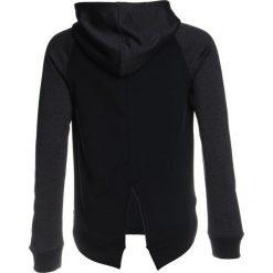 Bluzy chłopięce rozpinane: Under Armour FRENCH TERRY HOODY  Bluza z kapturem black