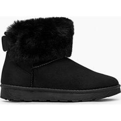 Buty zimowe damskie: Czarne Śniegowce Miss Hedgehog