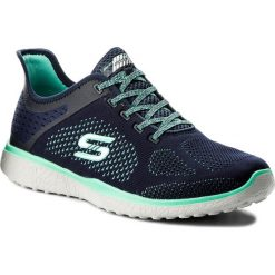 Buty SKECHERS - Supersonic 23327/NVGR Navy/Green. Niebieskie buty do fitnessu damskie marki Skechers. W wyprzedaży za 179,00 zł.