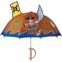 """Parasole: Parasol """"Pirat"""" w kolorze brązowo-niebieskim"""