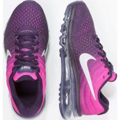 Nike Performance AIR MAX 2017 Obuwie do biegania treningowe purple dynasty/summit white/fire pink/peach cream. Czerwone buty sportowe dziewczęce Nike Performance, z materiału, do biegania. W wyprzedaży za 433,30 zł.