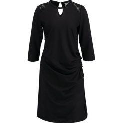 Sukienki hiszpanki: Kaffe MILLY  Sukienka etui black deep