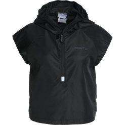 Craft EAZE HOOD JACKET Kurtka do biegania black. Czarne kurtki damskie do biegania Craft, xl, z materiału. Za 229,00 zł.