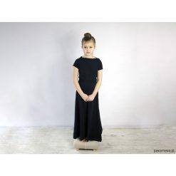 Sukienki dziewczęce: Sukienka UMUT mini dzianinowa długa granatowa