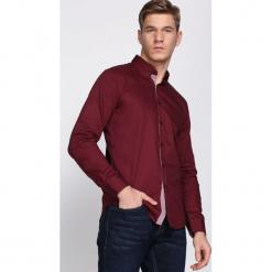 Bordowa Koszula Allow. Czerwone koszule męskie na spinki Born2be, l. Za 79,99 zł.
