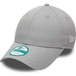 New Era - Czapka Basic Forty. Szare czapki z daszkiem męskie New Era, z bawełny. W wyprzedaży za 49,90 zł.