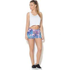 Spodnie sportowe damskie: Colour Pleasure Spodnie damskie CP-020 274 niebiesko-różowe r. XS/S