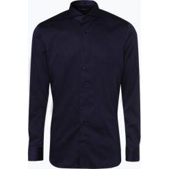 OLYMP SIGNATURE - Koszula męska – Sano, niebieski. Niebieskie koszule męskie marki Fynch-Hatton, l, z dekoltem karo. Za 449,95 zł.